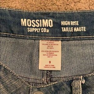 Mossimo Supply Co. Shorts - Jean shorts with lace